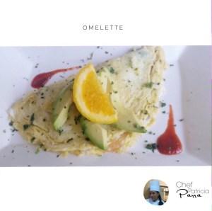 Para Celebrar: Omelette hecho en casa