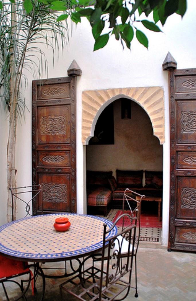 Patio marroqui