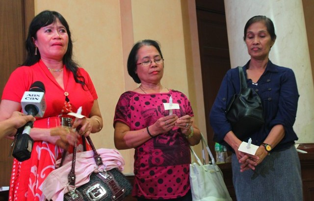 Widows of Ampatuan massacre victims disappointed in Aquino's speech