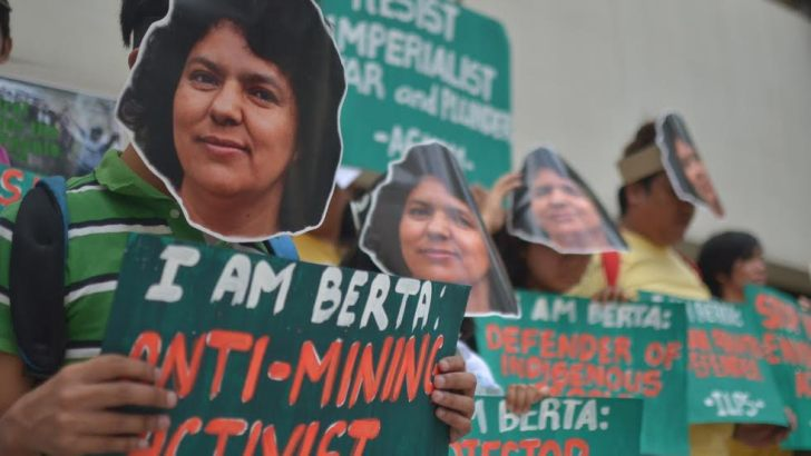 PH environmentalists demand justice for Honduran indigenous woman activist