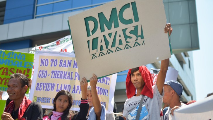 Indigenous peoples, peasants want DMCI closed