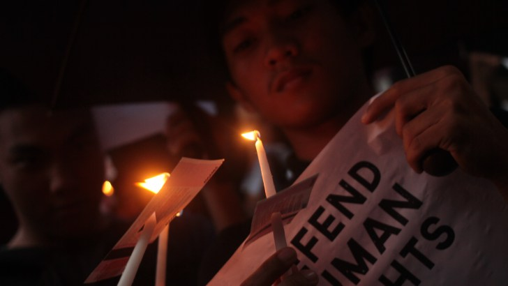 'Cardboard justice' | Youth groups stand against killings