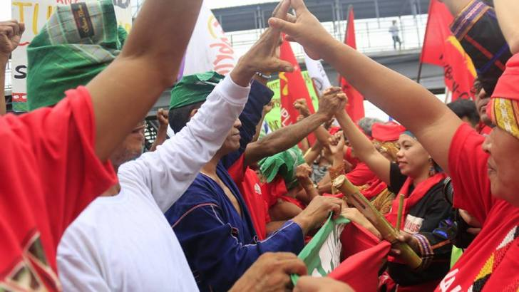 National minorities march to Mendiola Oct 13