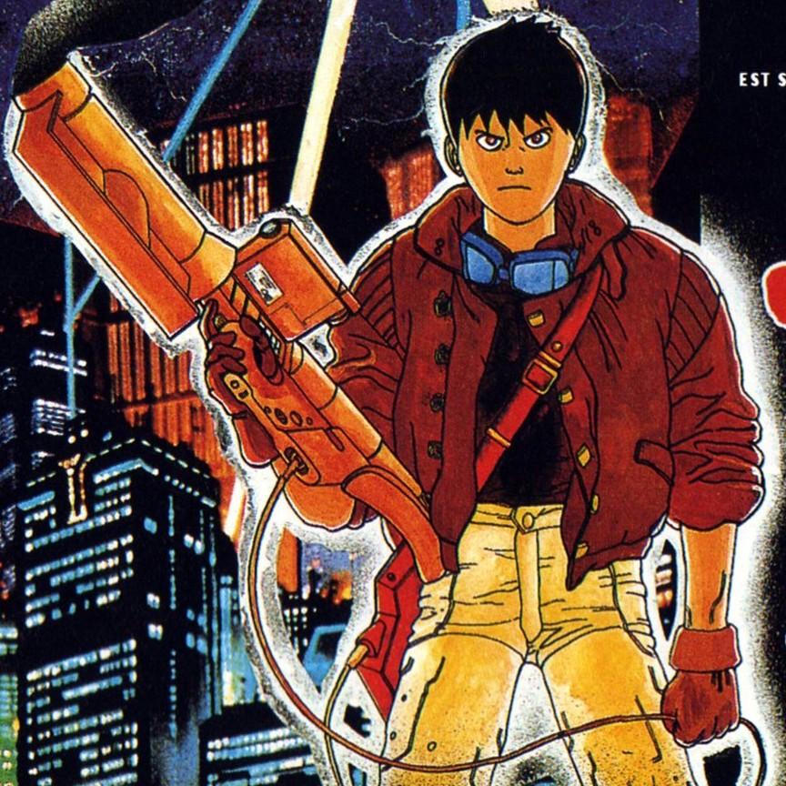 (poster) Akira (affiche française de 1991)