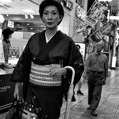 Kimono exigé pour la manif anti-nucléaire sur le pont suspendu