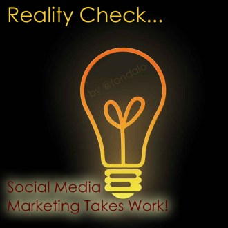 Reality Check: Daily Required Social Media Marketing Activity