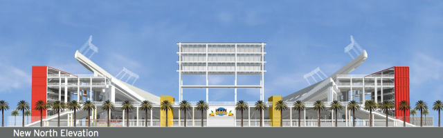 Citrus Bowl Rendering — New North