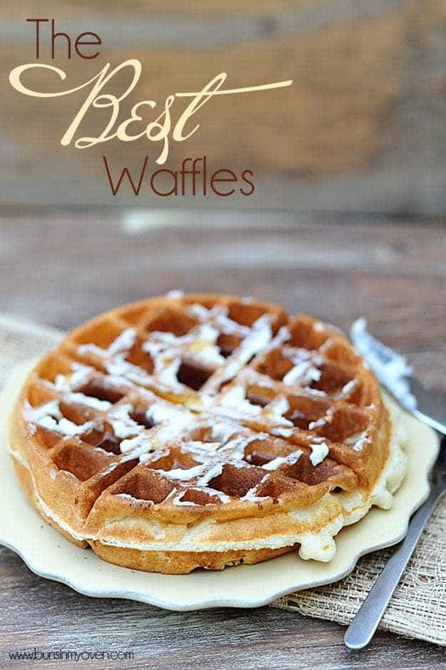 The best waffles I've ever made! Light, fluffy, and perfectly crispy ...