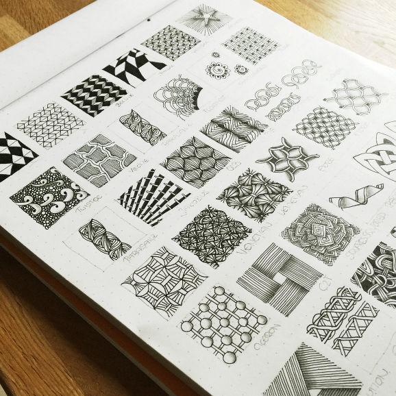 Zentangle® Muster-Verzeichnis