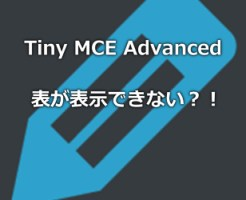 TinyMCEAdvanced表縦横