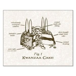 The Infamous Kwanzaa Cake