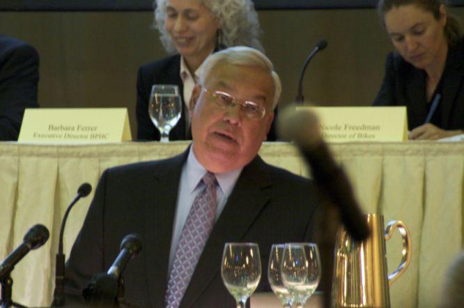 Mayor Thomas Menino