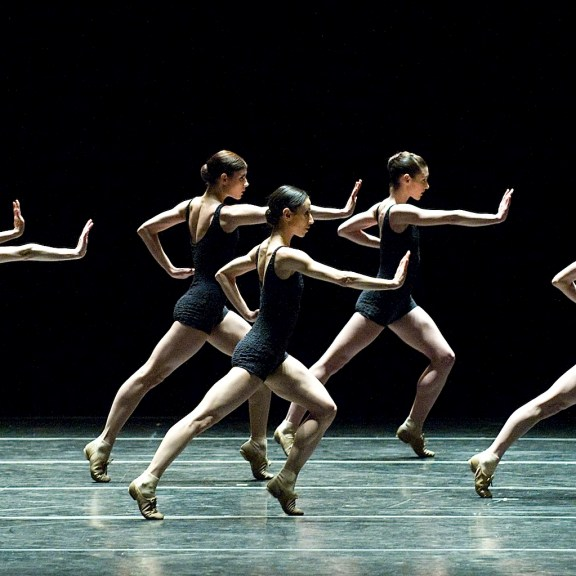 Boston Ballet in Black and White by Gene Schiavone, courtesy of Boston Ballet.