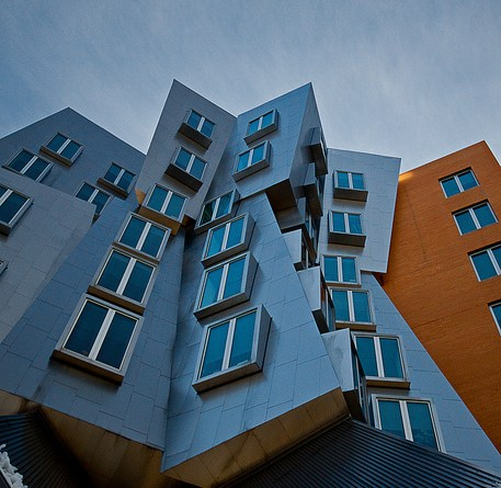 MIT's Stata Center | Photo taken by BU Photo Club member Scott Delisle