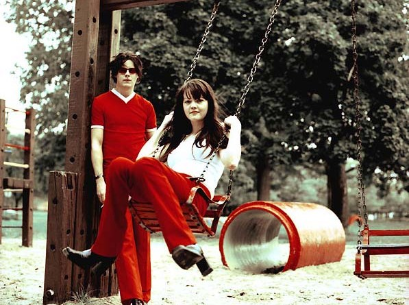 Jack and Meg White, courtesy of www.whitestripes.com