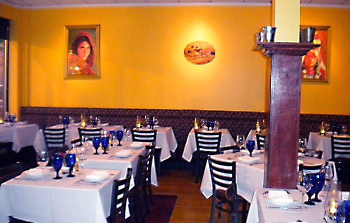 Ariana Restaurant Dining Room