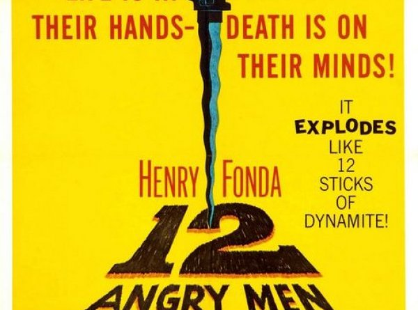 The Theatrical Poster for 12 Angry Men.