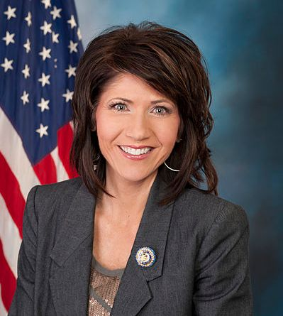 Kristi Noem, continuing a strong tradition of very foxy South Dakotan Legislators. Public Domain via Wikimedia Commons.