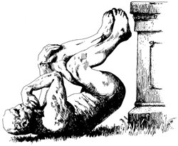 The symbol of the Ig Nobel Prizes.  | From improbable.com.