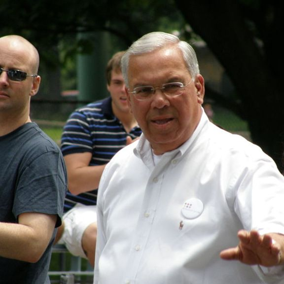 Boston mayor Thomas Menino. Now imagine how much more interesting this picture would be with Padma in it. | Photo by Wikimedia Commons user Dan4th Nicholas.