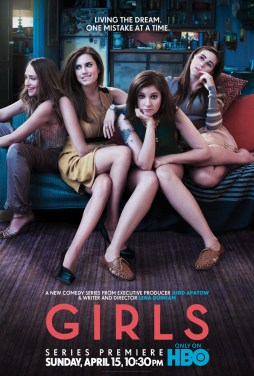 """Girls"" HBO show poster"