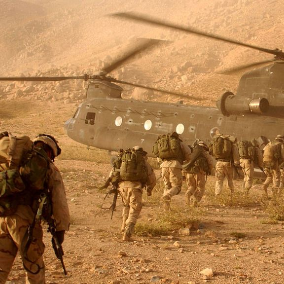 American Soldiers in Afghanistan. | Photo courtesy of Duffman via Wikimedia Commons.