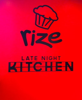 Rize and the Late Night Kitchen offer a variety of delicious food