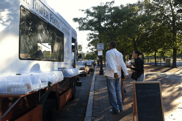 The Bell Tower Food truck | Photo Courtesy of Bell Tower Foods