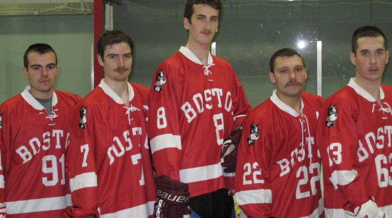 A photo of the team from last year, during Movember | Photo courtesy of Mike Carpenter