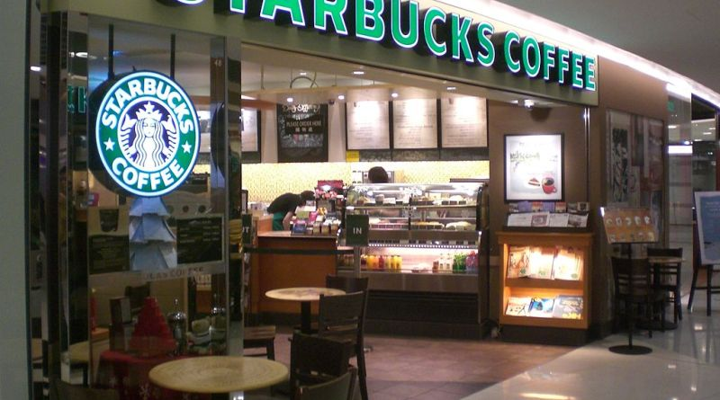 In Santa Fe Springs, California, you can find the highest density of Starbucks in America:  560 locations within 25 miles. | Photo courtesy of Wikimedia Commons user KLNMAX.