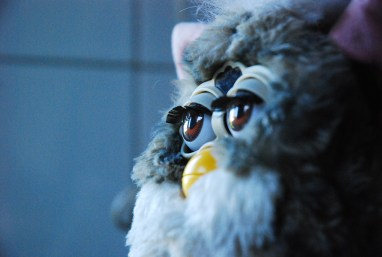 Furby walks a fine line between cute and spooky. | Photo courtesy Flickr via user danbri.