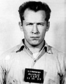 "Mug shot of James J. ""Whitey"" Bulger on November 15, 1959. 