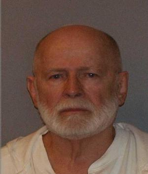 "Mug shot of James J. ""Whitey"" Bulger on August 2, 2011. 