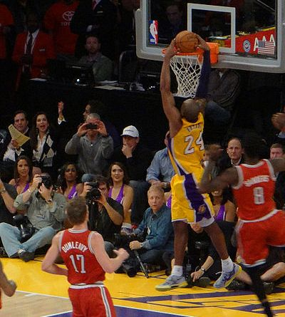 Kobe Dunking | Photo courtesy of Fido via Wiki Commons