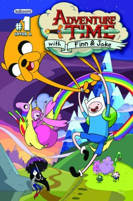 The comic cover that started it all, Adventure Time #1 | Cover courtesy BOOM! Studios