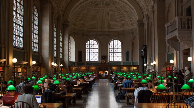 The Boston Public Library will be an important fixture in the district. | Photo courtesy flickr usertimsackton