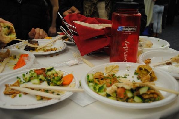 Food at the International Food Festival | Photo by Carol Chin