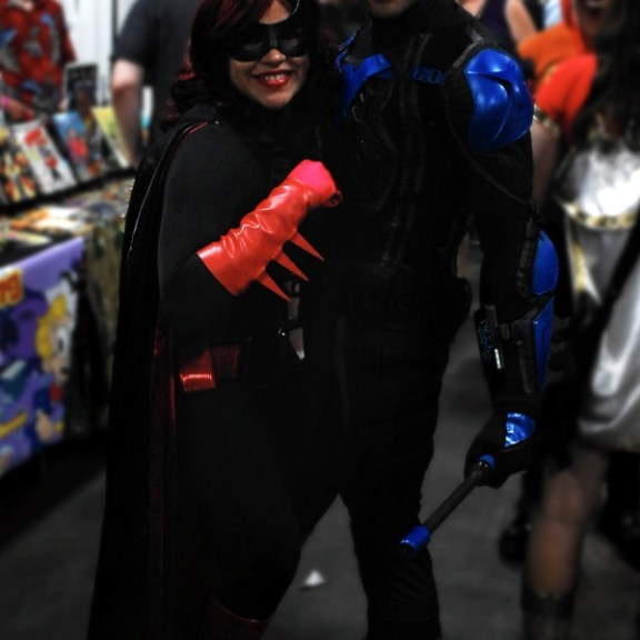 Batwoman and Nightwing