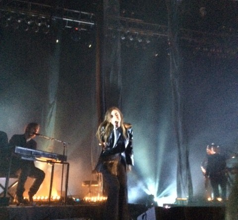 Lykke Li performs at the House of Blues Boston   Photo by Michelle Cheng.