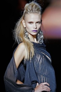 Russian supermodel Natasha Poly at a show in 2009. Photo by Ed Kavishe courtesy of Wikimedia Commons