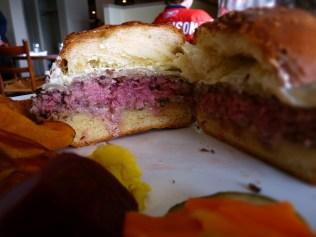 Pretty burger.