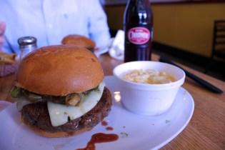 Burgers and Mac.