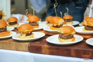 Our favorite lamb burger of the day was from Firefly's Danny Bortnick.
