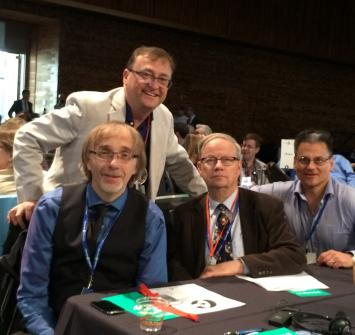BCA Convention Delegates - Mike, David, Ivars, Ron & Helen - thanks for attending!