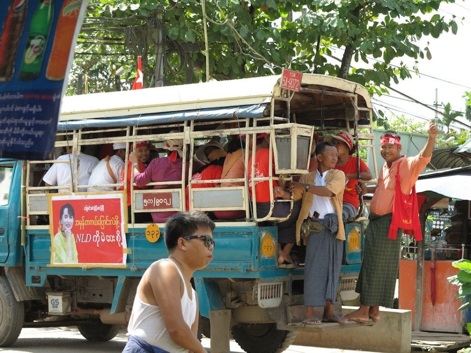 Everyone in Yangon is pretty excited about the elections. One of the rules is that parties are only allowed to campaign for the 60 days prior to the election (if only the US would adopt this idea!)
