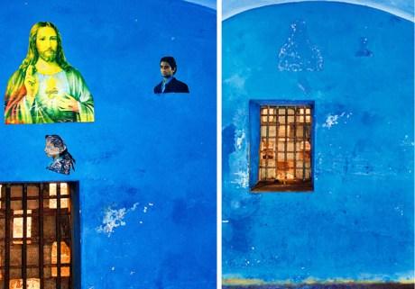 Lyle Ashton Harris, Untitled (Blue Cell/Blue Christ), 2010, courtesy the artist.