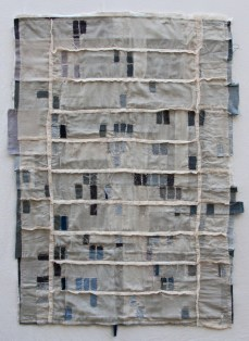 Kathryn Clark, Riverside Foreclosure Quilt, 2012.