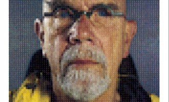 Chuck Close's Self-Portrait Permutations