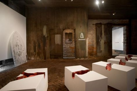 Installation View of Adrienne Outlaw's Sweet Demise