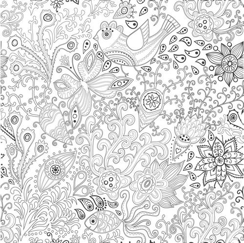coloriage anti stress ca marche